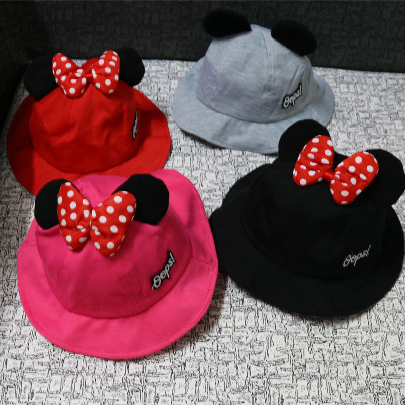 Children's Cartoon Cute Basin Hat 2019 New Spring And Summer New Boys And Girls Baby Hat Fashion Trend Fisherman Hat Beanies