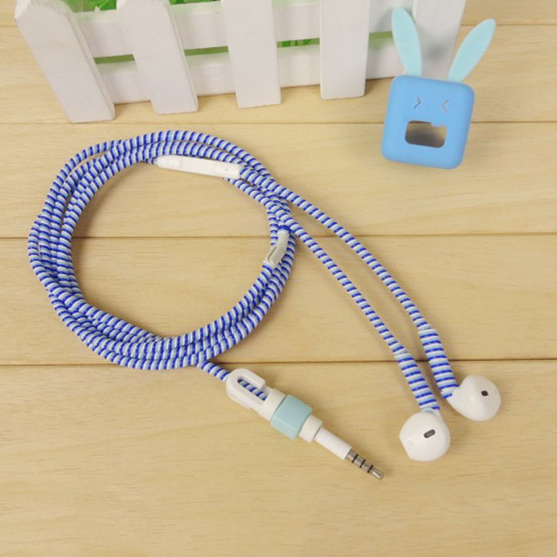 Clever 1.5m Mix Color Phone Wire Cord Rope Protector Usb Charging Cable Bobbin Winder Data Line Earphone Cover Suit Spring Sleeve Twine Consumer Electronics Digital Cables