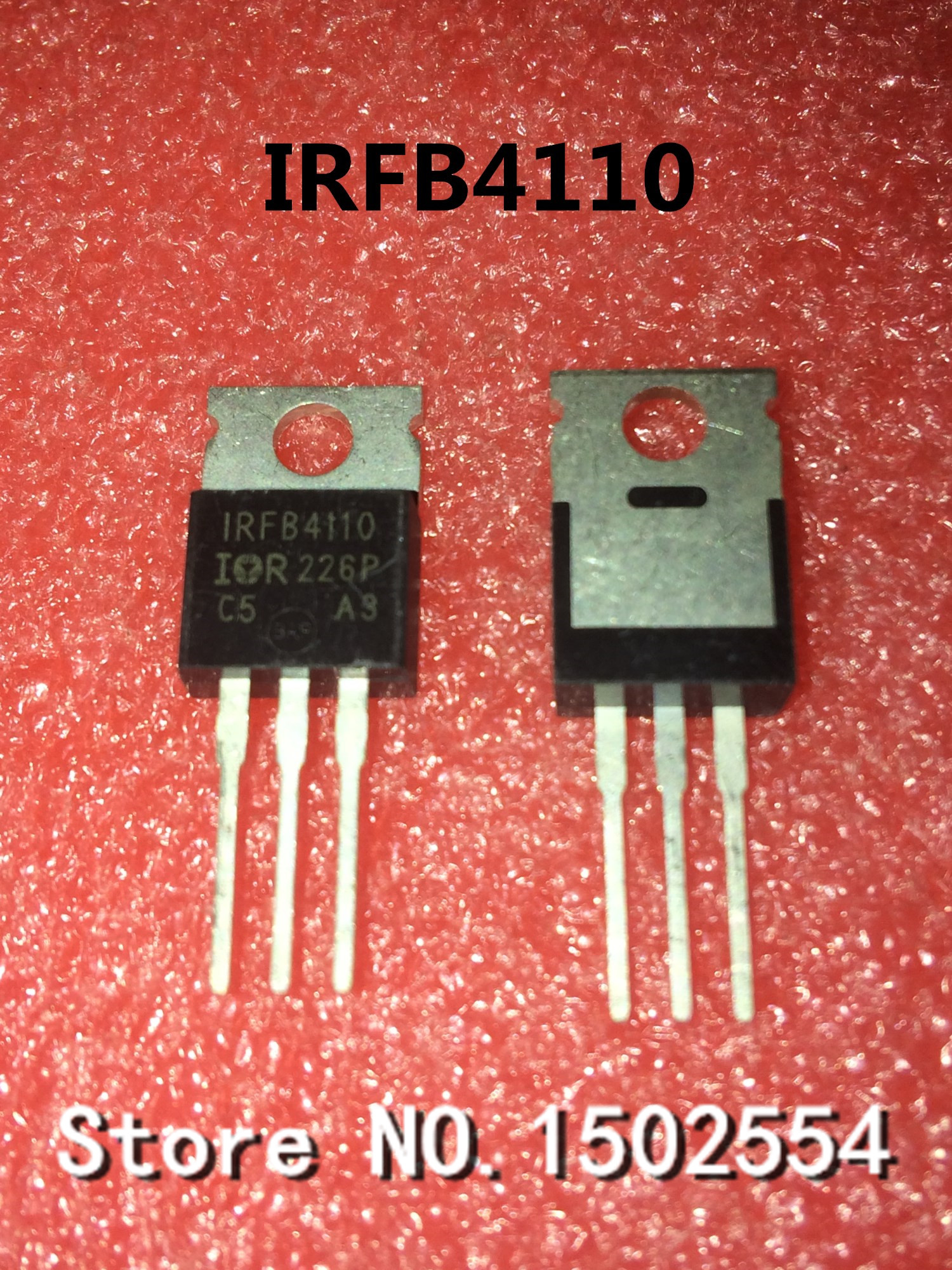 20PCS IRFB4110PBF IRFB4110 Power MOSFET TO-220 NEW