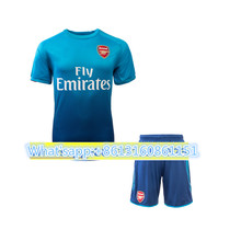667cffde8 Hot sale 2017 Arsenals Top Best Qualit Full Arsenales adult kit+sock Soccer jersey  17 18 Home Away 3RD kit Shirt Free shipping