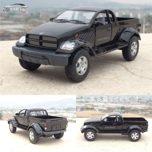 Brand New Kt 1 43 Scale Car Toys Usa Dodge Ram Pickup Diecast Metal