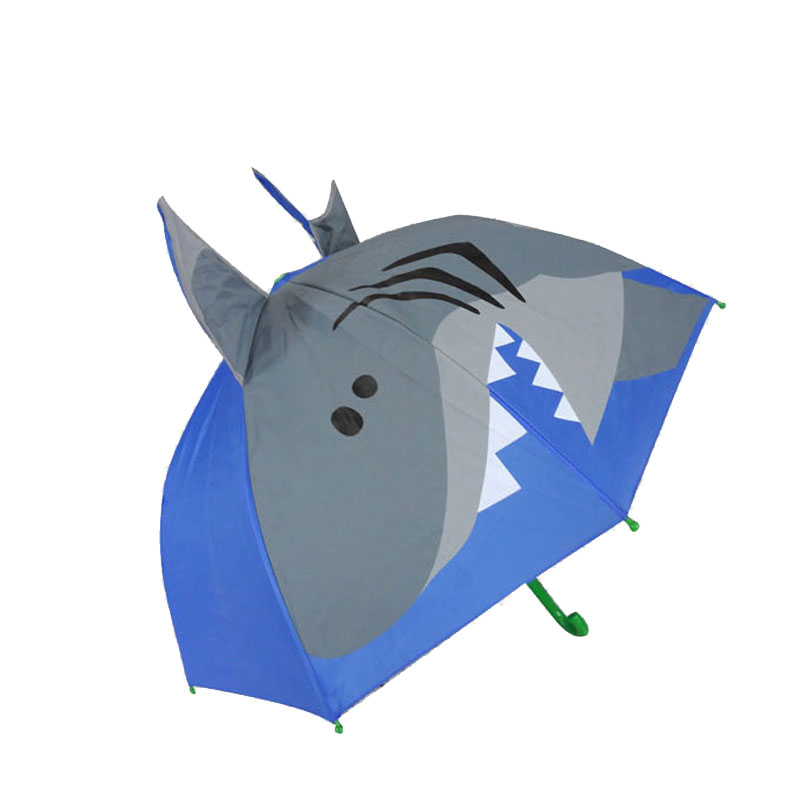 Hatley Kids Umbrella Blue with Paper Planes Design /& Wooden Handle