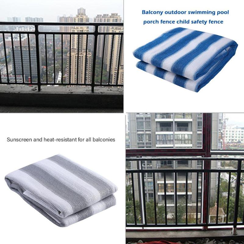 Baby Safety Balcony Nylon Playpens 500x90cm Children Staircase Porch Fence Yard Protection Barrier Kids Sun Shade Anti-theft Net