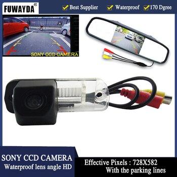 "FUWAYDA 4.3"" Car Monitor mirror+SONY Car rear view camera for Benz C-Class W203 E-Class W211 CLS-Class 300 W219 R350 R500 ML350"
