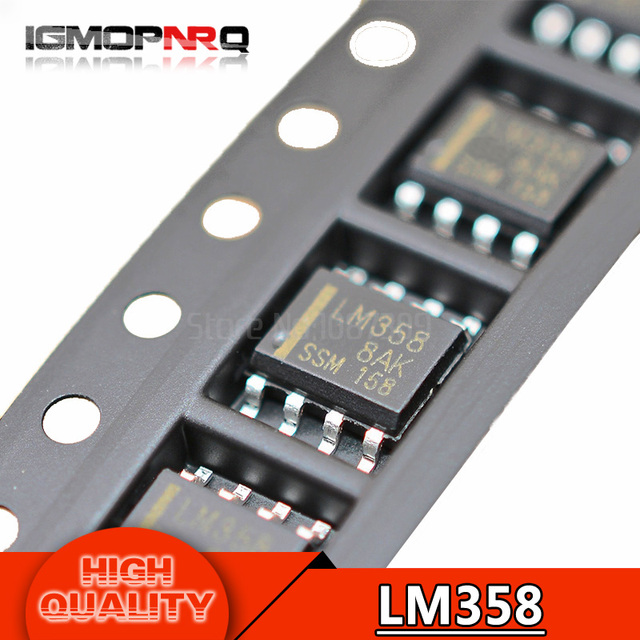 50pcs free shipping LM358 LM358DR SOP8 Operational Amplifiers - Op Amps Dual Low new original