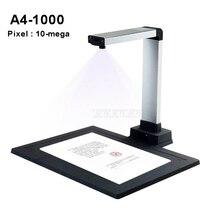 A4 автоматический USB Портативный цифровой документный сканер файл для фотографии сканирования 10-mega Пиксели сканер быстрая визуальный Презентер A4-1000