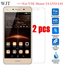 2PCS For Huawei Y5II Y5 ii CUN-U29 CUN-L21 CUN-L01 9H Tempered Glass Y6 II Compa
