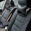 2 Pcs Soft Car Rest Seat Pillow Space Memory Foam Danni Leather Winter Car Headrest Auto Supplies Neck Cushion Safety Pillow