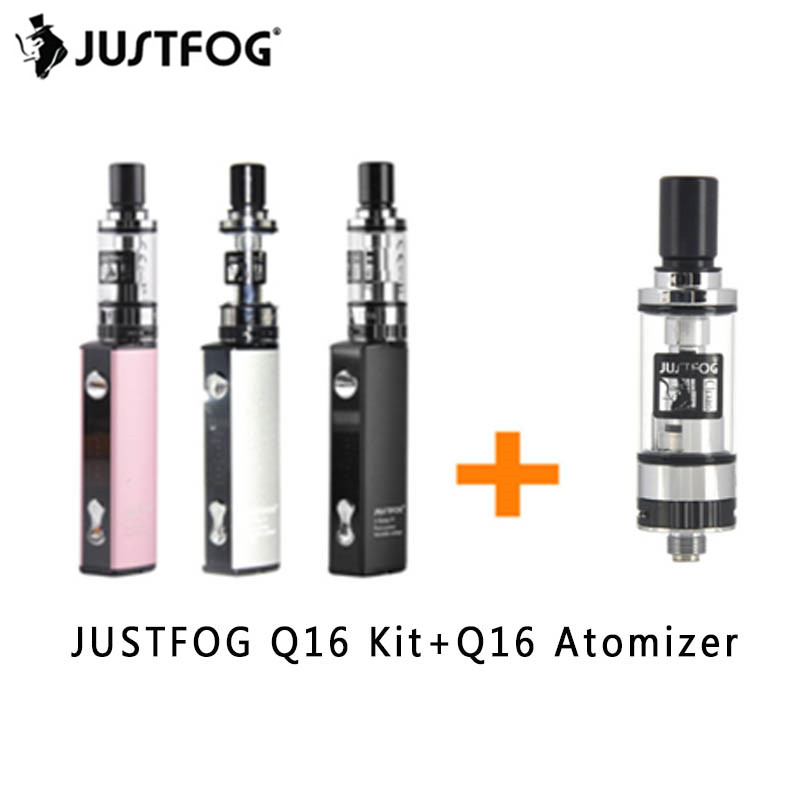 JUSTFOG Q16 Kit VS Q16 Tank Vape Pen Mini Kit 2.0ml Tank 510/eGo Thread 900mah Battery Built-in E Cigarette Kit VS JUSTFOG P16A