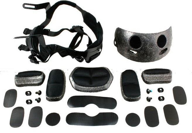 Prix pour RAPIDE MICH casque accessoire EMERSON Dial Liner Kit ensemble complet OPS-CORE ACH Occ-dial Liner Kit Casque Système