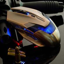Haute Qualité 2400 DPI 7 Couleur LED Optique Réglable Filaire Gaming Mouse pour Ordinateur Portable PC SHENSEE