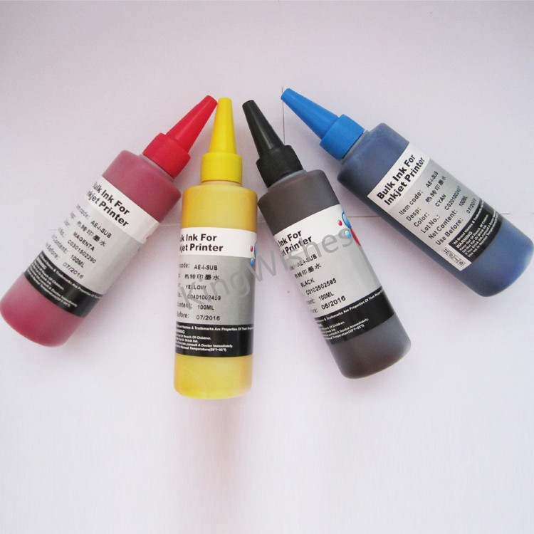 ФОТО T1331-T1334 Sublimation Ink For Epson N11 NX125 NX230 4 Color Printer