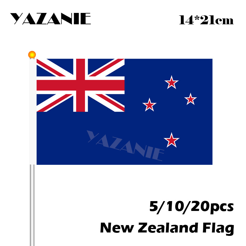 Stickers, Emblems & Flags NEW ZEALAND FLAG STICKERS SHEET SIZE 21cm
