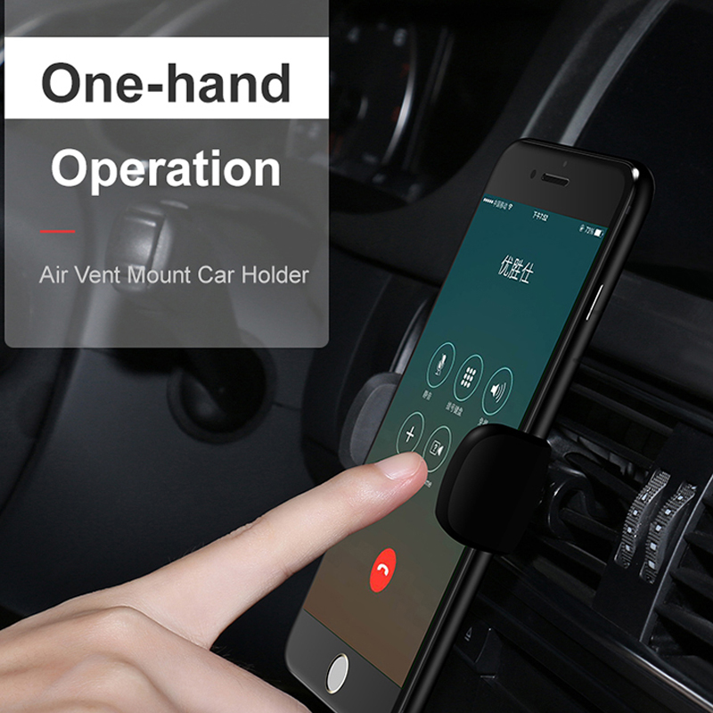 Image 5 - USAMS Car Phone Holder for iPhoneX 8 7 6 Adjustable Air Vent Mount Car Holder 360 Degree Rotation Support Mobile Car Phone Stand-in Phone Holders & Stands from Cellphones & Telecommunications