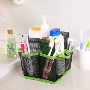Mesh Shower Tote plain shower tote caddy in emerson paisley and mia tile print