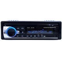 12 V Bluetooth V2.0 Car Radio Audio Reproductor de MP3 Estéreo En el tablero de Soporte USB AUX de Entrada con Mando a distancia Receptor de Radio FM