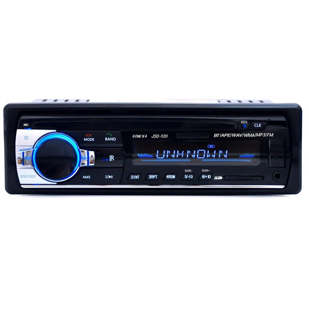 Zeepin 12 V Bluetooth V2.0 Voiture Audio Stéréo Lecteur MP3 Radio au tableau de bord Support USB Entrée AUX avec Télécommande FM Radio récepteur