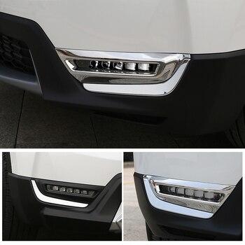 ded046f67631 Ajuste para el coche accesorios estilo honda cr-v crv 2017 2018 abs cromado  puerta cubierta del espejo retrovisor espejo cubre panel Etiqueta engomada  del ...
