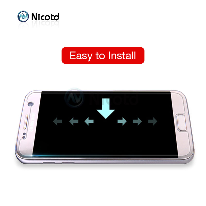 Nicotd 9H Clear Tempered Screen Protector Glass Film For Samsung Galaxy Models 4