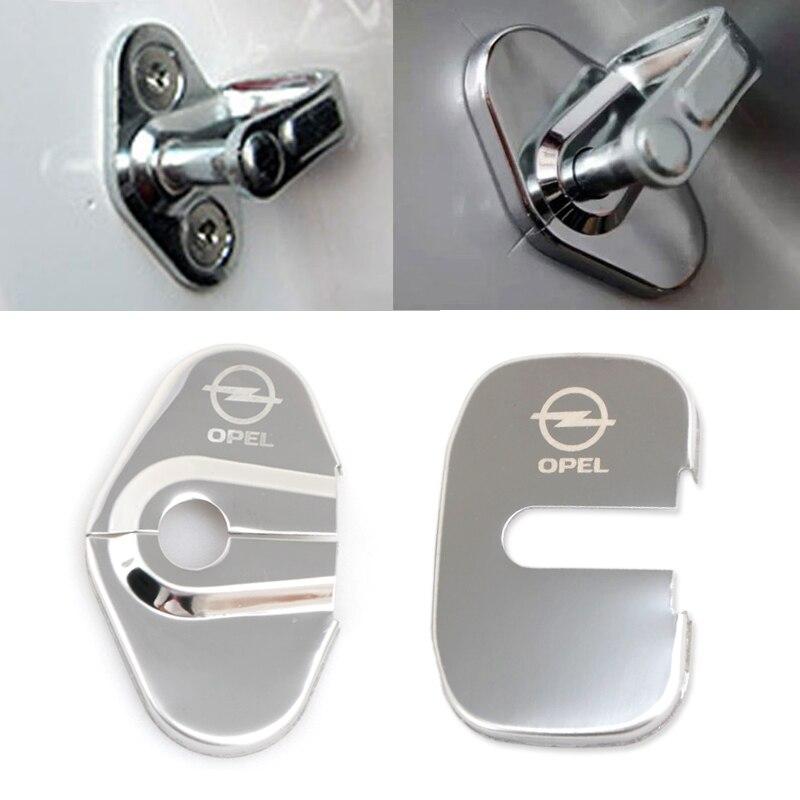 Car Styling Car Covers Case For Opel Astra Zafira Corsa Insignia Mokka Meriva Auto Emblems Accessories Car-Styling 4pcs