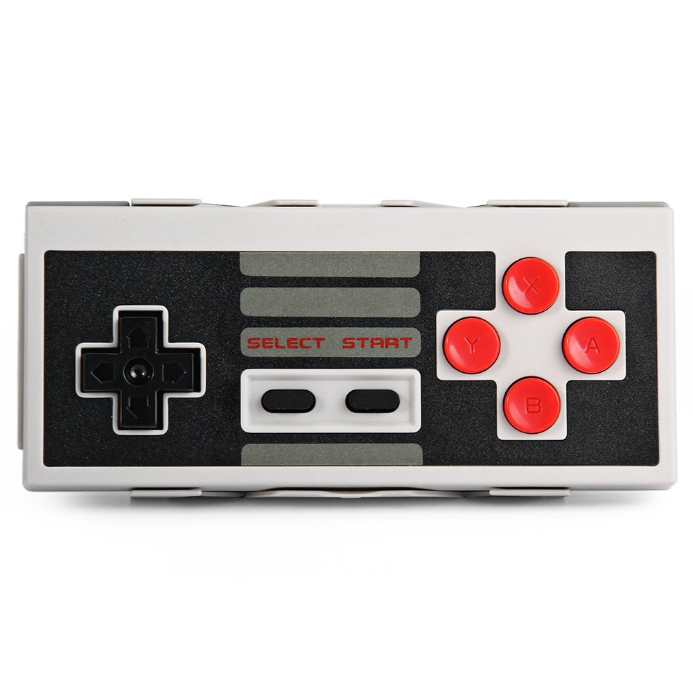 8Bitdo NES30 Wireless Bluetooth Controller Dual Classic Joystick for iOS Android Gamepad PC Mac Linux Upgradable Firmware