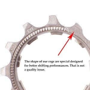 Image 4 - ZTTO 9 מהירות קלטת 11 40 T רחב יחס Freewheel אופני הרי MTB אופניים קלטת גלגל תנופה סבבת תואם עם sunrace