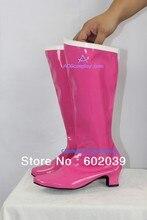 Сейлор Мун Сейлор Usagi косплей обувь сапоги розовый версия женщина сапоги ACGcosplay