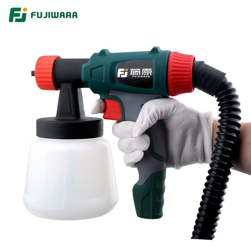 FUJIWARA 800W elektrinis purškimo pistoletas latekso dažų - Elektriniai įrankiai - Nuotrauka 2