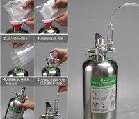 Wyin Aquarium DIY CO2 Generator System Kit 4L Pressure Air Flow Adjustment Water Plant Fish Aquarium ValveDiffuserThe reaction