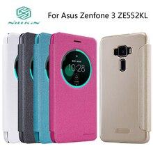 Для Asus Zenfone 3 ZE552KL случае NILLKIN Искра Кожаный чехол откидная крышка телефон случаях + Пакет Крышка враг Asus Z012DA