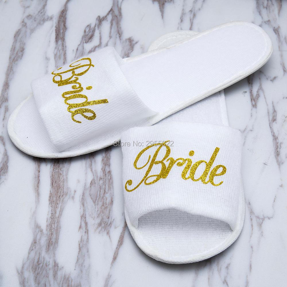 dcb856c9a380 Personalized Wedding Slippers