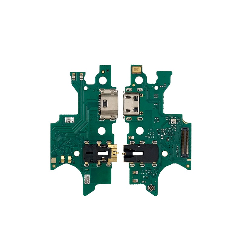 New Microphone Module+USB Charging Port Board Flex Cable Connector Parts For Samsung A7 2018 / A750F
