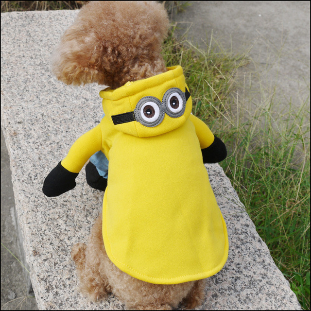 Minions Costume for Puppies and Chihuahua