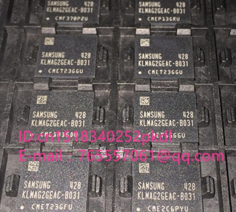 (1PCS) (2PCS) (5PCS) (10PCS)  100%  new original   KLMAG2GEAC-B031  BGA   EMMC font 16GB chip KLMAG2GEAC B031 1pcs 2pcs 5pcs 10pcs 100