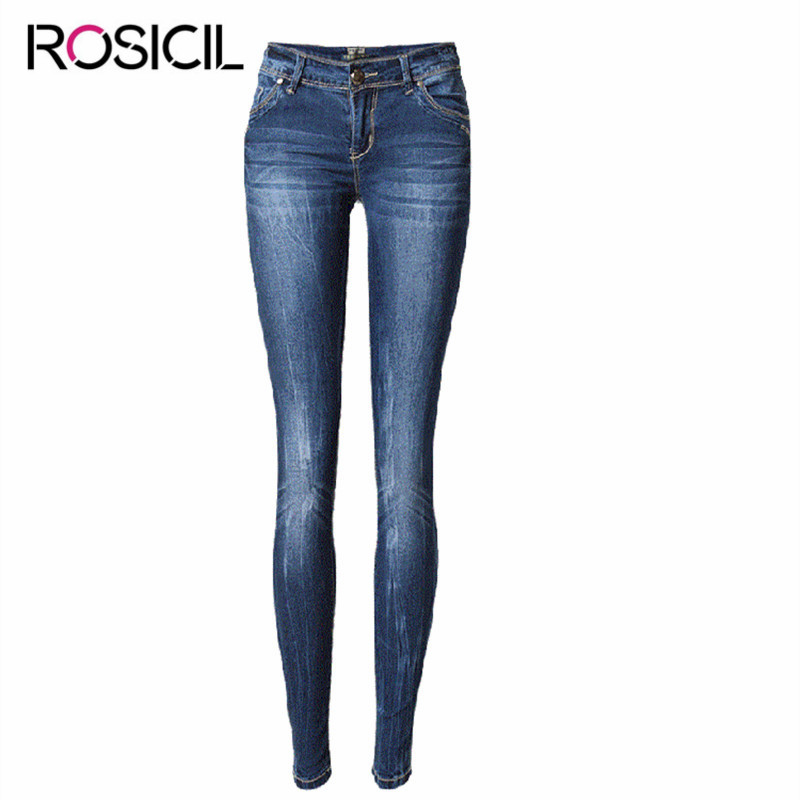 New Style Skinny Jeans Women Low Waist Jeans Female Blue Denim Pencil Pants Lady Fashionable Style High Quality Jeans Female 2017 new skinny jeans lady jeans pants blue low waist slim pencil pants denim jeans women trousers size 5xl free shipping