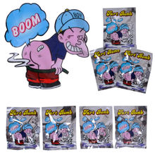 10pcs/Set Funny Fart Bomb Bags Stink Bomb Smelly Funny Gags Practical Jokes Fool Toy April