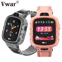 2019 Vwar K90 enfants GPS WIFI montre intelligente IP67 étanche caméra téléphone montres enfants bébé Sport Smartwatch Anti-perte VS Q90 Q50
