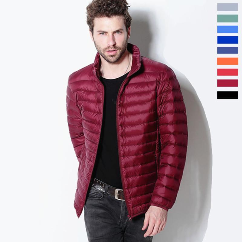 Nuevo 2015 chaqueta de invierno marca caliente abajo