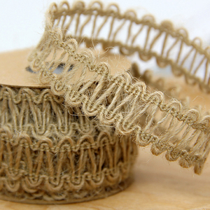Image 2 - Ficelle en Jute naturelle, 5M, ruban artisanal Vintage, décor en ruban pour décoration de fête de mariage, bobine à domicile, Festival, Scrapbooking, 9 Styles