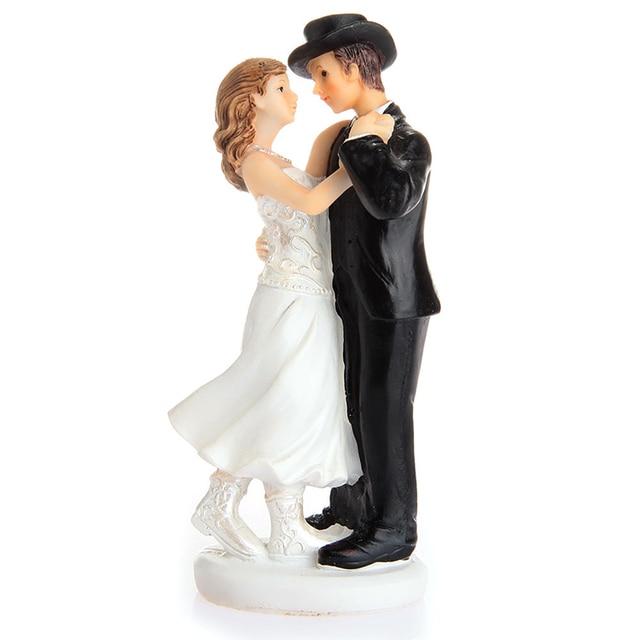 Casal danando resina wedding cake topper do bolo de casamento casal danando resina wedding cake topper do bolo de casamento topper resina artesanato junglespirit Gallery