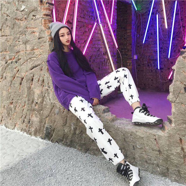 Streetwear Hiphop Harem Graphic Print Elastic Waist Jogger Pant Summer Autumn Homme Tracksuit Korean Trouser Fashion Workout New 5