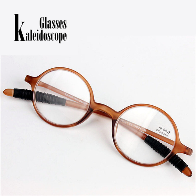 fd407c4b61 Small Round Reading Glasses Lightweight Presbyopic Men Women Readers  Transparent Eyeglasses Hyperopia Prescription Eyeglasses