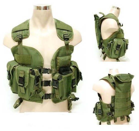 8aadb971f0ed Online Shop Top Quality BDU US Navy Seals 97 Vest Military Molle Water Bag  Swat Tactical Vest Army Training Combat Uniform Shooting vest