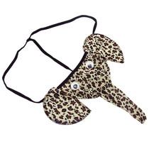 2019 nowe seksowne męskie stringi stringi słoń z gąbką uwypuklającą mężczyzn elastyczna T powrót bielizna erotyczna stringi męskie z gąbką uwypuklającą bieliznę 30 tanie tanio JAYCOSIN Nylon Egzotyczne 2019# Zwierząt Mężczyźni Stringi i stringi Figi NONE