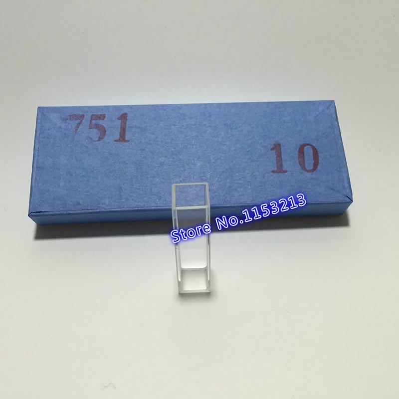 10 pcs / lot jalur Cahaya 10mm Berkualitas Tinggi cuvette kaca (sel - Perlengkapan sekolah dan persediaan pelatihan - Foto 2