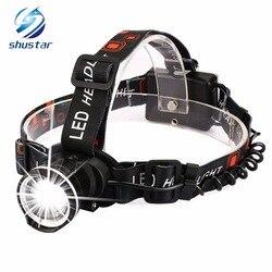 Super Bright LED Headlamp T6 LED Headlight zoomable headlamp 3 Modes Rotate Zoomable Headlamps Use 3 AA batteries
