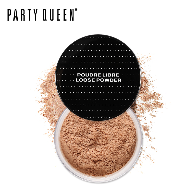 Party Queen Face Finishing Powder Loose Setting Powder Oil-Control Lasting Fix Powder with Puff Mineral Nude Superfine Make Up все цены