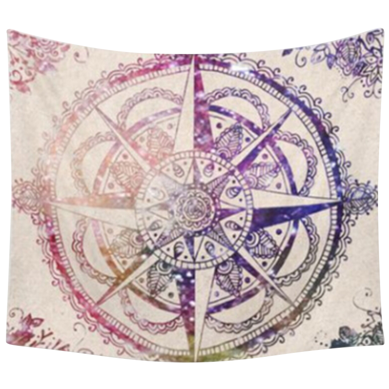 203 153cm Indian Mandala Tapestry Mandragora Octagonal large circle printing  flowers Beach Towels
