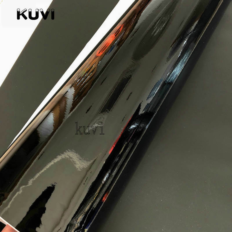 Image 3 - 152CMX30CM Bright Glossy Black Vinyl Car Wrap Car Motorcycle Scooter DIY Styling Adhesive Film Sheet With Air Bubble Stickers-in Car Stickers from Automobiles & Motorcycles