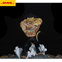 7 ONE PIECE CP9 Statue Rob Lucci Bust Full Length Portrait GK Action Figure Collectible Model Toy BOX 18CM Z356